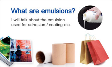 What are emulsions?